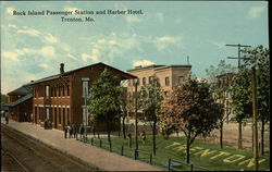 Rock Island Passenger Station and Harber Hotel