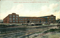 Lehigh Valley Railroad Locomotive Works