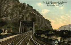 The B.&O. Bridge and the Tunnel Under Maryland Heights