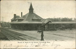Boston & Maine R.R. Station