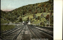 Hoosac Tunnel, Approach to East Portal, Mass.