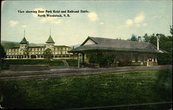 Deer Park Hotel and Railroad Station