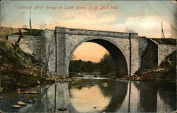 Railroad Arch Bridge - Built 1848
