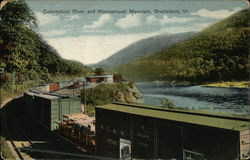 Connecticut River and Wantastiquet Mountain