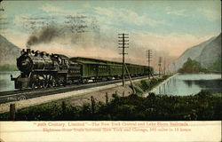20th Century, Limited - The New York Central and Lake Shore Railroads