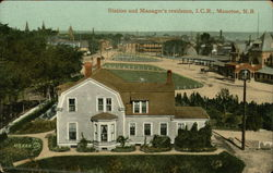 Station and Manager's Residence, I.C.R.