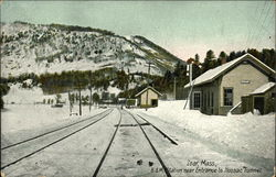 B & M Station Near Entrance to Hoosac Tunnel