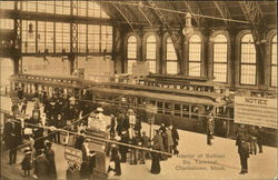 Interior of Sullivan Square Terminal