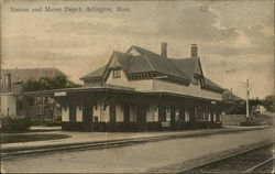 Boston and Maine Depot