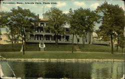 Lincoln Park, Thule Club Postcard