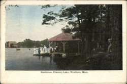 Boathouse, Chauncy Lake