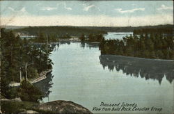 Thousand Islands, View from Bald Rock, Canadian Group