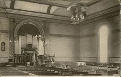 Interior of M.E. Church - Estey Organ Company