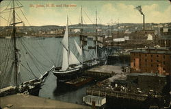 View of Town and Harbor