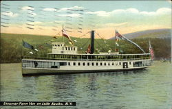 Steamer Penn Yan on Lake Keuka, N.Y.