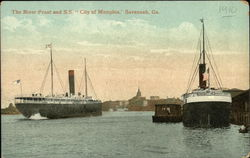 The River Front and S.S. City of Memphis