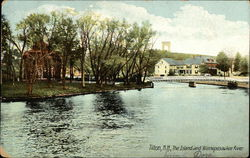 The Island and Winnepesaukee River