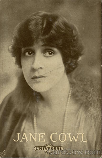 Jane Cowl Actresses