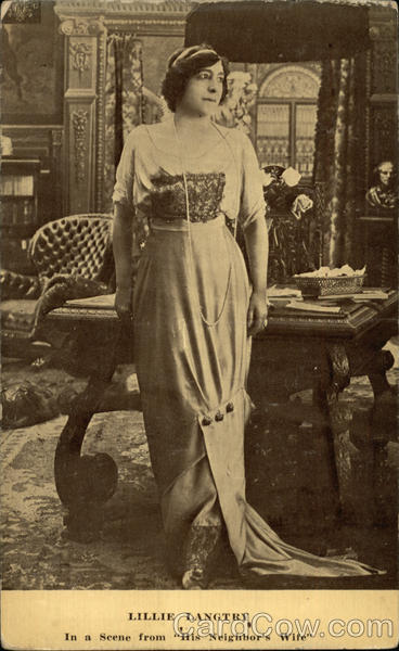 Lillie Langtry in His Neighbor's WIfe Actresses