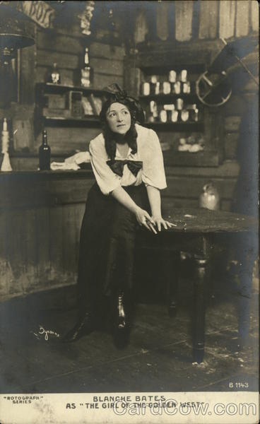 Blanche Bates as The Girl of the Golden West Actresses