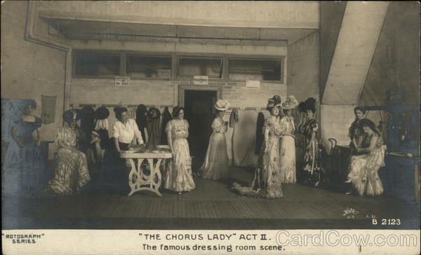 The Chorus Lady Act II The Famous Dressing Room Scene