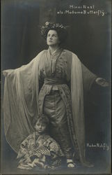 Minni Nast as Madame Butterfly