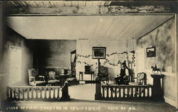 Stage of FIrst Theatre in California