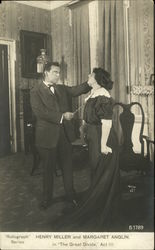 "Henry Miller and Margaret Anglin in ""The Great Divide"" Act III"