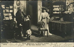 "David Warfield and Minnie Dupress in ""The Music Master"" Act I"