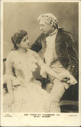Sir Charles Wyndham and Mary Moore