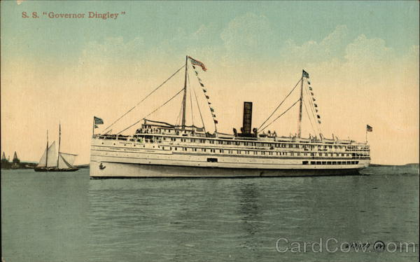 S.S. Governor Dingley Steamers
