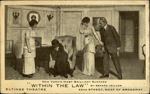 Within The Law by Bayard Veiller Theatre