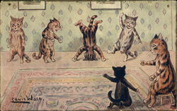 Cats Dancing, Headstand