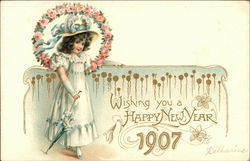 Wishing You A Happy New Year 1907