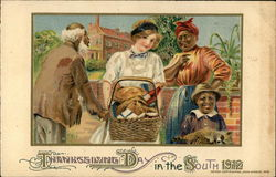 Thanksgiving Day in the South 1912