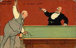 Billiards Made Easy. A Masse Shot