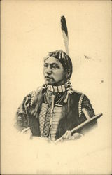 Photo portrait of an American Indian man