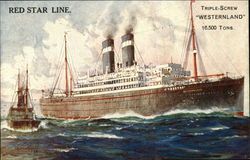 Red Star Line Triple-Screw Westerland