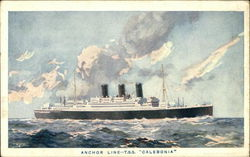 Anchor line - T.S.S. Caledonia