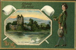 Ross Castle, Killarney. A Patrick's day souvenir.