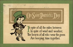 On Saint Patrick's Day