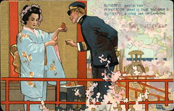 Scene from Madam Butterfly Opera