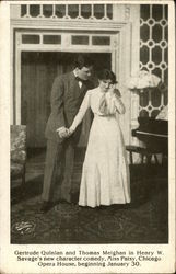 Gertrude Quinian and Thomas Meighan in Henry W. Savage's new character comedy,Miss Patsy,Chicago Ope