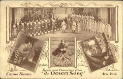"Scenes from ""The Desert Song"" - Casino Theatre, New York"