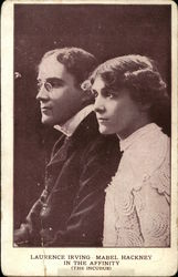 "Laurence Irving and Mabel Hackney in ""The Affinity"" (The Incubus)"