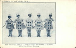 "The Minstrel Girls, in ""The Rogers Brothers in Paris,"" Management Klaw & Erlanger"