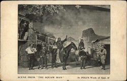 "Scene From ""The Squaw Man"" At Poli's Week of Sept. 27"