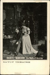 "Hackett - Mannering ""The Walls of Jericho"" Savoy Theatre"
