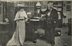 "David Warfield and Minnie Dupree in ""The Music Master"" Act I"