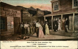 "Scene from the Great American Play,""THE VIRGINIAN"""